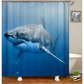 ホオジロザメ2シャワーカーテン