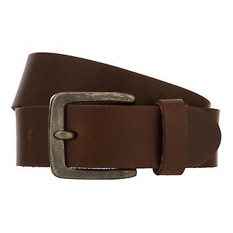 Teal Belt Men's Belt Leather Belt Jeans Belt Brown 8343