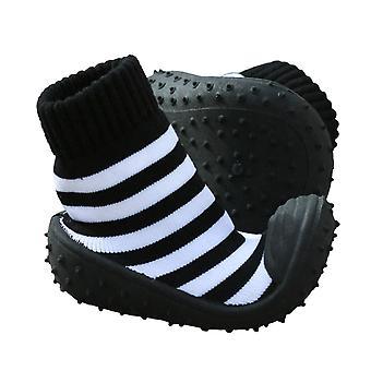 Πόδι Μοκασίνι μαύρο