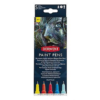 Derwent Paint Pens Palette Set #1