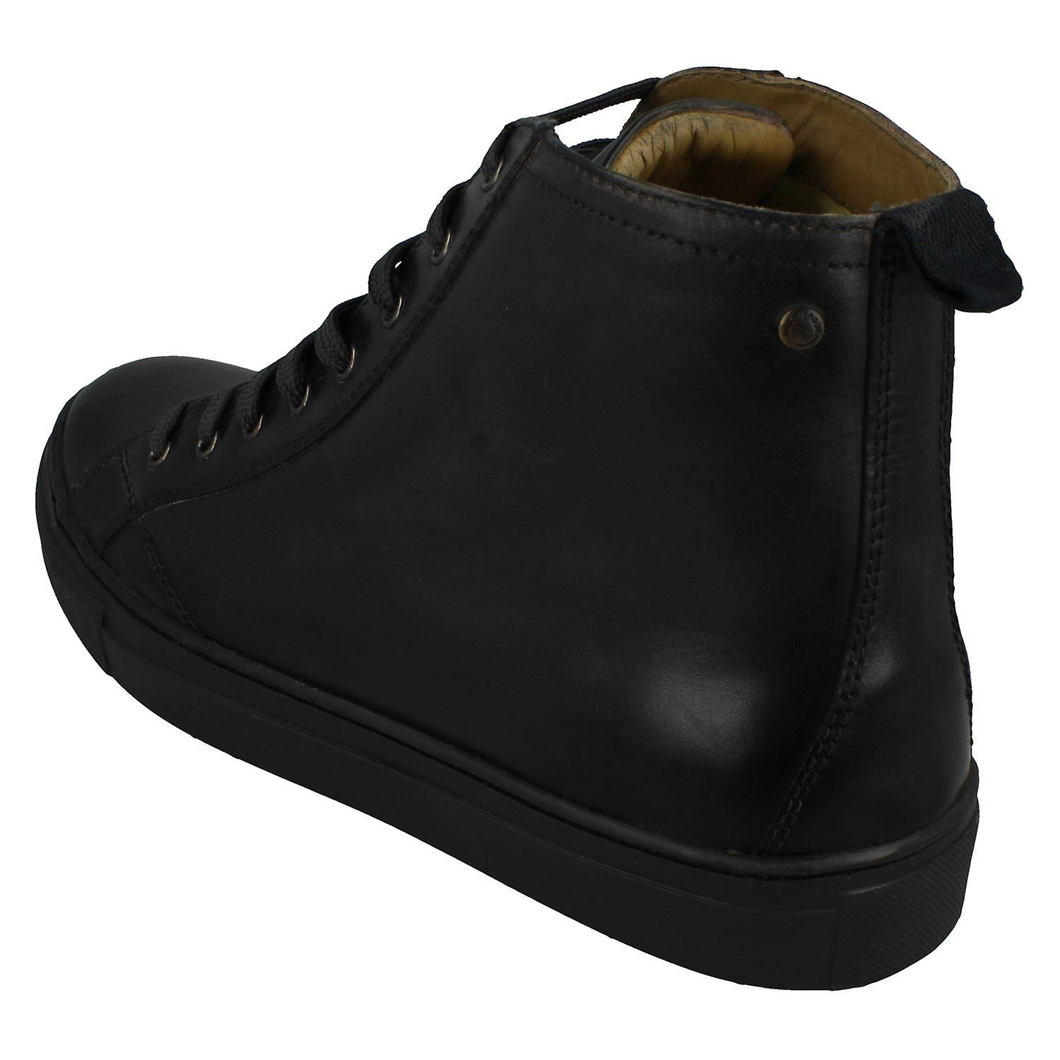 Mens Base London Casual Ankle Boots Russell