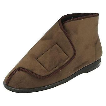 Mens Balmoral Wide Opening Boot Slippers VB-K4299