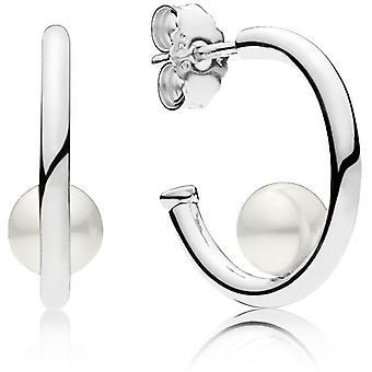 297528P - Ohrringe Perlen zeitgenössische Frau Pandora Ohrringe