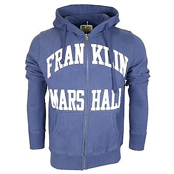 Franklin & Marshall coton marine Zip Up Hoodie