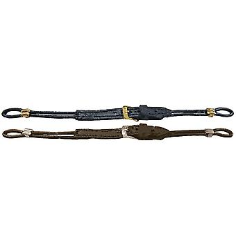 Cordette watch strap brown leather