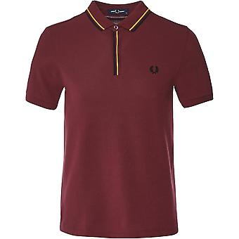Fred Perry Tipped Placket Polo Shirt M8559 122