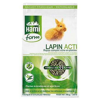 Hami Form Complet Rabbit Acti 700G (Small pets , Dry Food and Mixtures)