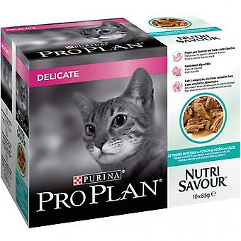 Pro Plan Delicate Pescado del Océnao (Cats , Cat Food , Wet Food)