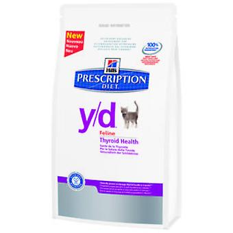 Hill's Prescription Diet y/d Thyroid Care (Cats , Cat Food , Dry Food)