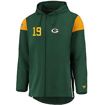 Ikonisk franchise Full Zip NFL Hoodie - Green Bay Packers