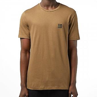 Boss Orange Tales Plain T-Shirt Dark Sand 280 50389384