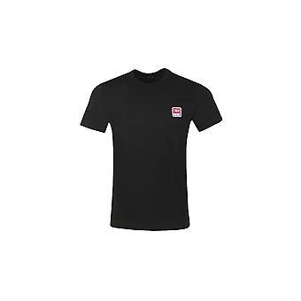 Diesel T-diego-div Basic Logo Musta T-paita
