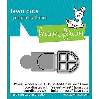 Lawn Fawn Reveal Wheel Build-a-House Add-on stirbt
