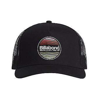 Billabong Flatwall Trucker Cap in Zwart