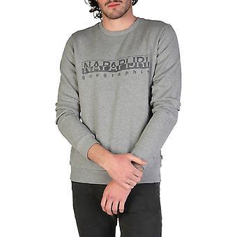 Napapijri Original Men All Year Sweatshirt - Grey Color 34766