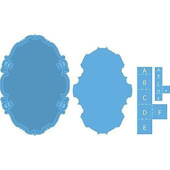 Марианна Дизайн Creatables Резка умирает - Овальный и и Всплывающее окно LR0371