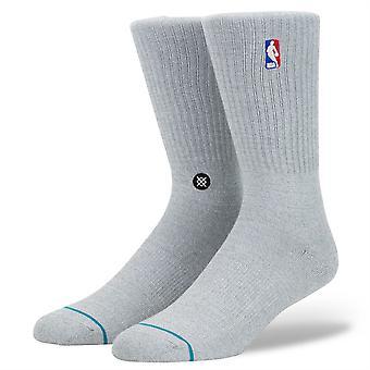 Stance Staples Men's Socks ~ Logoman St grey heather