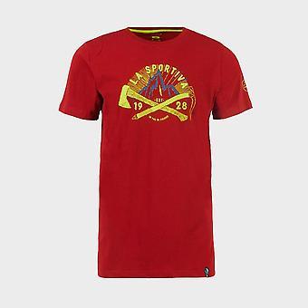 New La Sportiva Men's Hipster T-Shirt Red