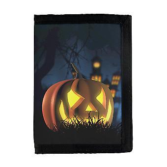 Halloween Pumpkin Wallet