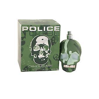 Policja być Kamuflaż Mężczyźni Eau de Toilette Spray 125ml