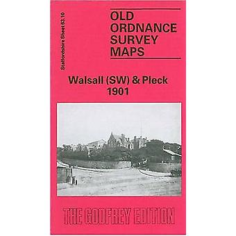 Walsall (South West) and Pleck 1901 - Staffordshire Sheet 63.10 by Cat
