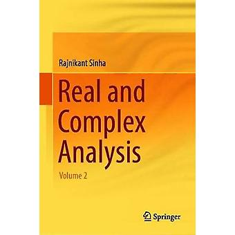 Real and Complex Analysis - Volume 2 by Rajnikant Sinha - 978981132885