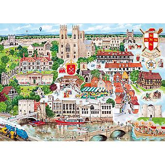 Gibsons York Jigsaw Puzzle (1000 pièces)