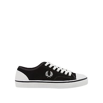 Fred Perry Men's Hughes Low Suede Sneakers