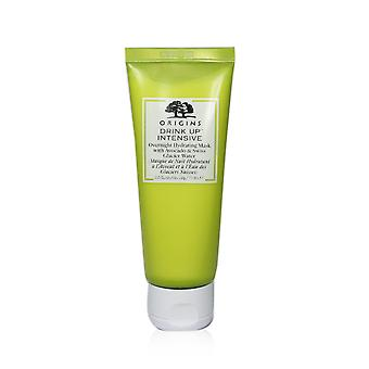 Drink up intensive overnight hydrating mask with avocado & swiss glacier water (for normal & dry skin) 240202 75ml/2.5oz