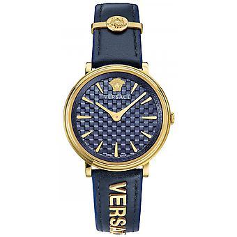 Versace VE8101219 Relógio feminino V-Circle 38 mm