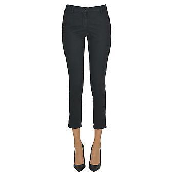 White Sand Ezgl429009 Women's Blue Cotton Pants