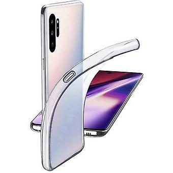 Cellularline Fijne TPU Achterkant Samsung Galaxy Note 10 Plus Transparant
