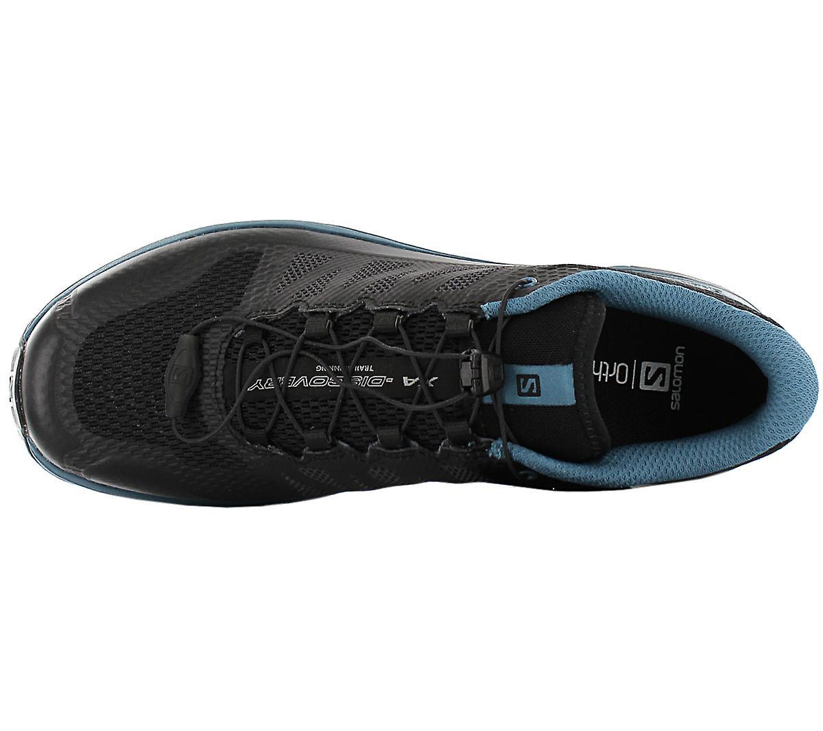 Salomon Xa Discovery - Herren Wanderschuhe Schwarz-petrol 406619 Sneakers Sportschuhe