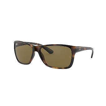 Ray-Ban RB4331 710/73 Havana/Dark Brown Sunglasses