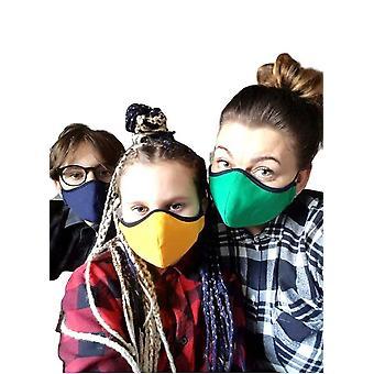 3 maskers voor kinderen, wasbaar in 70 D. Mouthguard