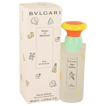 Petits & Mamans Eau De Toilette Spray por Bvlgari 1,3 oz Eau De Toilette Spray