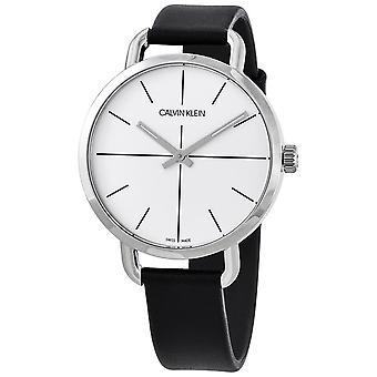 Calvin Klein K7B231CY Even Quartz Silver Dial Ladies Watch