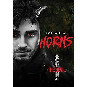 Horns [DVD] USA import