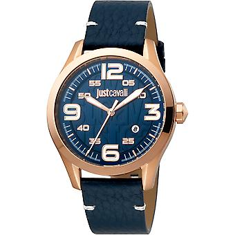 Just Cavalli Young Watch JC1G108L0025 - Leather Gents Quartz Analogue