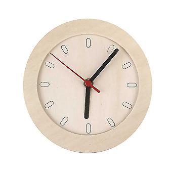 Wysokiej jakości niedokończony drewniany zegar z mechanizmem do dekoracji