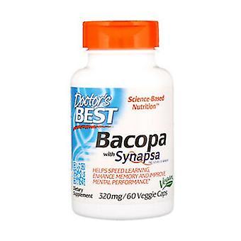 Bacopa avec Synapsa 320mg 60 capsules végétales