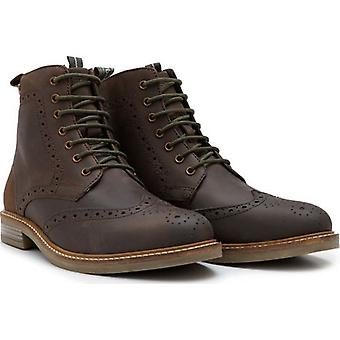 Barbour Footwear Belsay Leather Brogue Boots