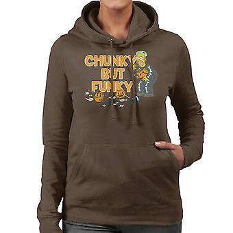 The Simpsons Chunky But Funky Halloween Homer Women's Hooded Sweatshirt