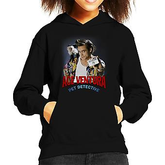 Ace Ventura Pet Detective Monkey And ID Card Kid's Hooded Sweatshirt