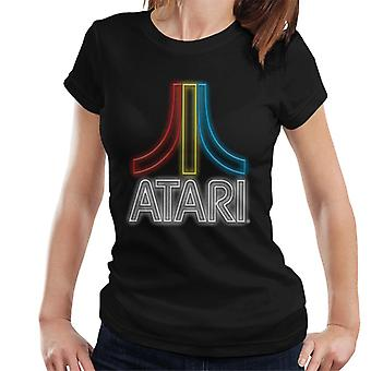 Atari Multi Neon Logo Women's T-Shirt