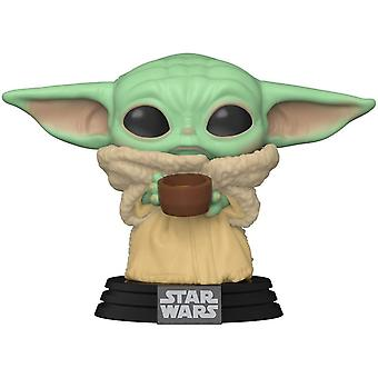 Funko Pop! Vinyl The Mandalorian The Child with Cup #378