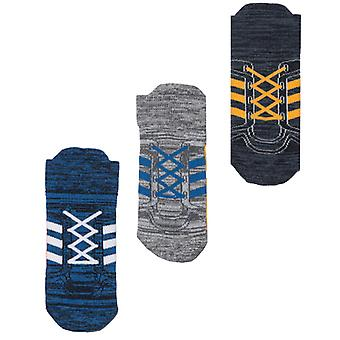 Boy-apos;s adidas Infant 3 Pack Socks in Blue
