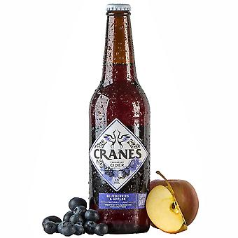 Cranes Cranberry Cider with Blueberries & Apple