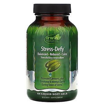 Irwin Naturals, Stress-Defy, 84 Liquid Soft-Gels