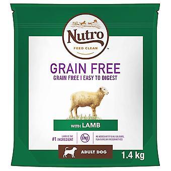 Nutro Dog Dry Grain Free Adult Medium With Lamb - 1.4kg